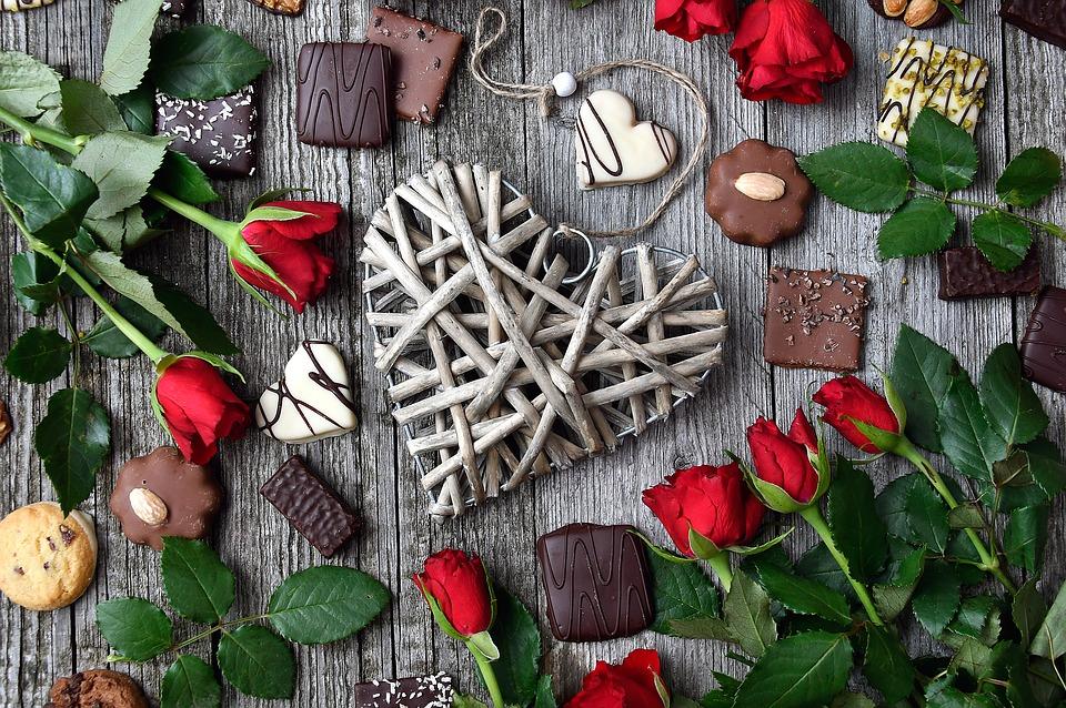Chokladogram & blommogram
