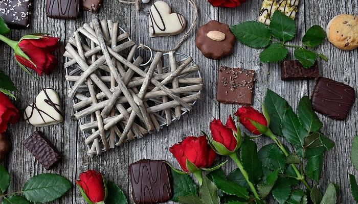 blom och chokladbud